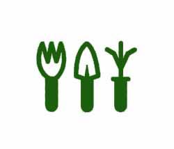 Simbolo Jardineria